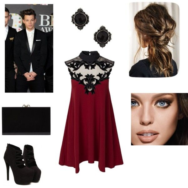 A fashion look from February 2015 featuring button back dress, suede shoes and black purse. Browse and shop related looks.