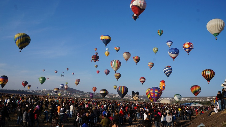Festival Internacional del Globo León Gto MÉXICO... seeya next year ballons!