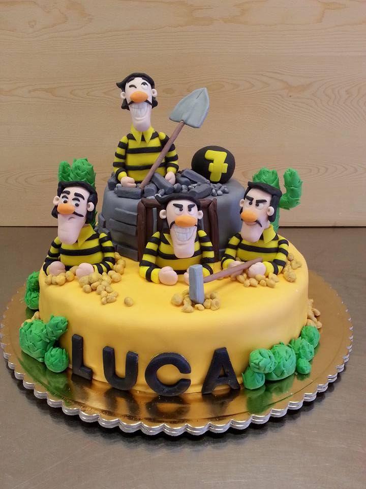Cake of Dalton brothers Torta con i fratelli Dalton.