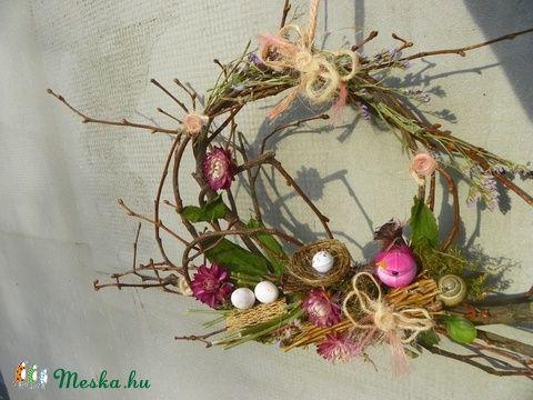 TAVASZ- húsvéti ajtódísz,koszorú,kopogtató (galamb70) - Meska.hu