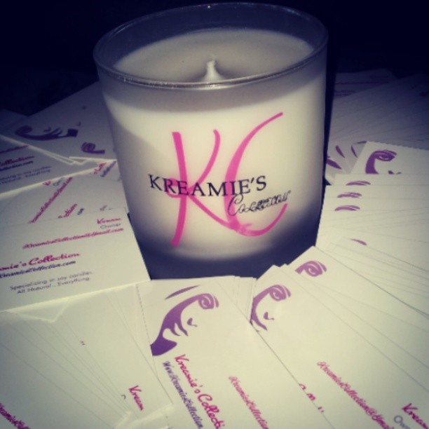 Incredible Scented Candles via http://www.kreamiescollection.com/