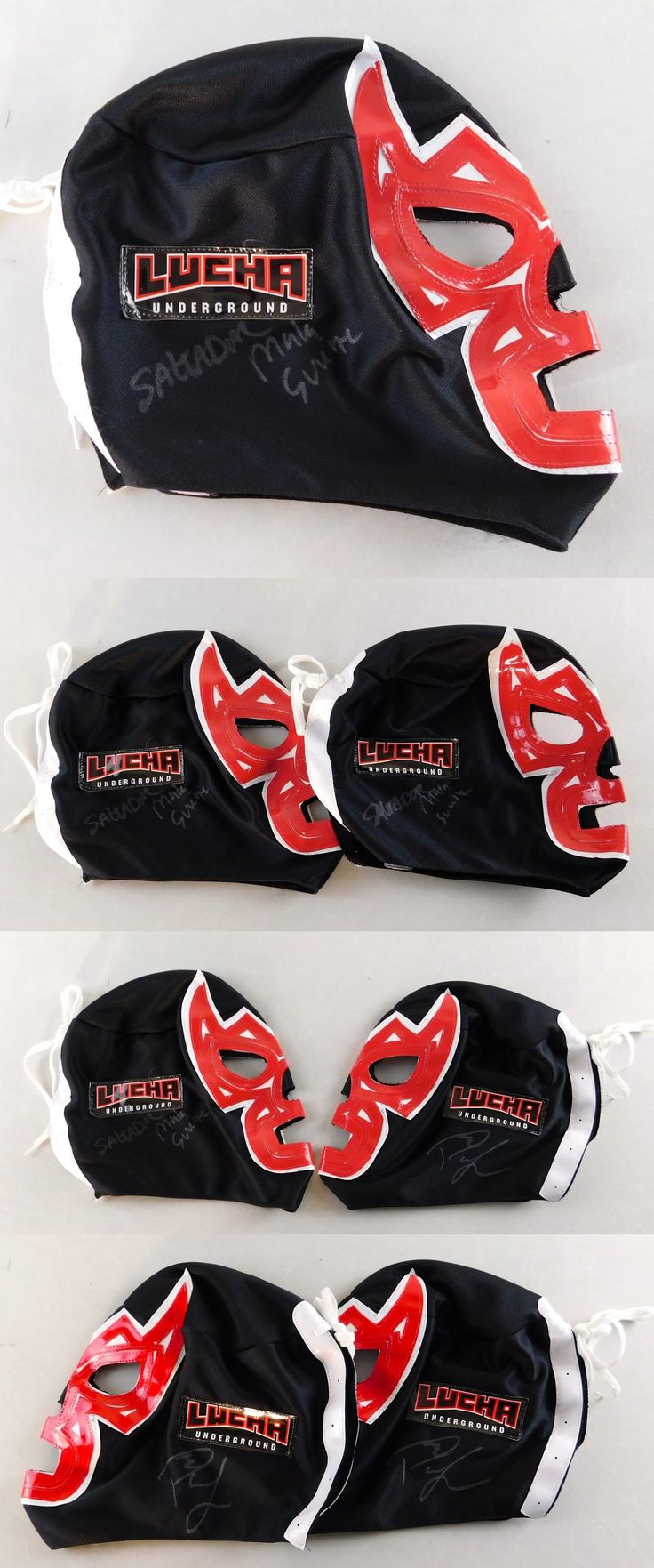Wrestling 2902: The Tribe Paul London Saltador Autographed Lucha Underground Adult Mask Aaa Wwe -> BUY IT NOW ONLY: $59.99 on eBay!