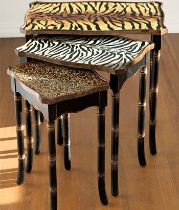 Think DIY. Mod Podge! Snack tables, end tables, side tables, maybe even the top of a dresser or coffee table! Possibilities are endless.     ✔