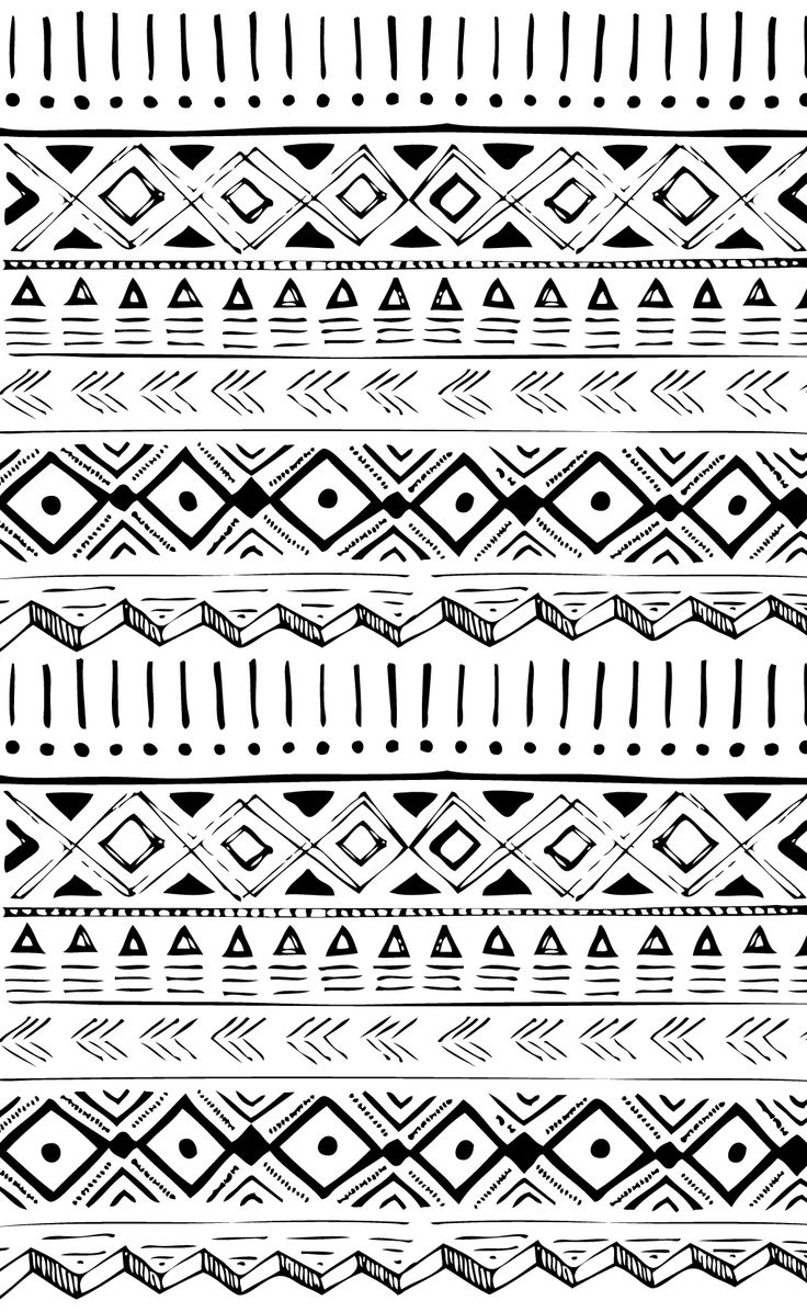 native american hand drawn pattern print inspiration