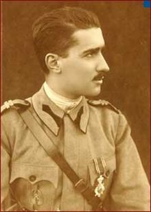 Prince Barbu Alexandru Știrbey (4 November 1872 – 24 March 1946) as 30th Prime Minister of the Kingdom of Romania in 1927. He was the son of Prince Alexandru Știrbey and his wife Maria Ghika-Comănești, and grandson of another Barbu Dimitrie Știrbei (born Bibescu, adopted Știrbei), who was Prince of Wallachia and died in 1869.
