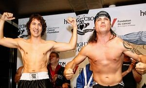 Justin Trudeau and Patrick Brazeau boxing match. The reason Brazeau was chosen as an opponent. The Guardian, July 2017.