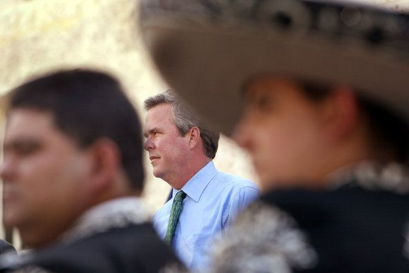 Jeb Bush Listed Himself as 'Hispanic' on Voter Form - First Draft. Political News, Now. - NYTimes.com
