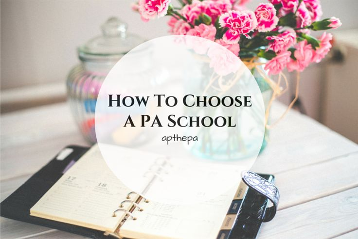Happy Friday you guys! Today I wanted to share a few tips on how to narrow down your choices of which schools to apply to. Applying to PA...