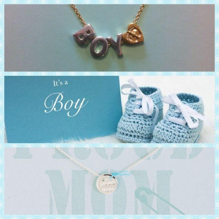 I's a boy! Heart to Get heeft hele leuke kettinkjes voor (aanstaande) moeders! Met de Heart for Initials kan je de initialen van je kleintje aan een kettinkje hangen of kies voor de 'Proud mom' coin! www.hearttogetjewelry.com #hearttoget #itsaboy #baby #jewelry