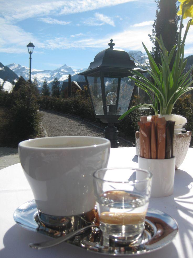 Terrace @ The Alpina Gstaad ( Schöne Sonntag Mitenand! )