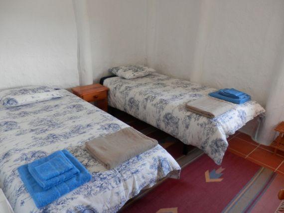 Una de les habitacions dobles