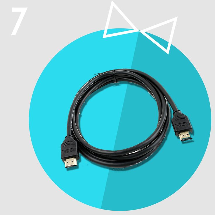 Christmas Gift idea #7 - HDMI cable  Here's another handy stocking filler - HDMI cable. You'll know you need one when you try to connect your computer or game console to your TV. Better have one handy