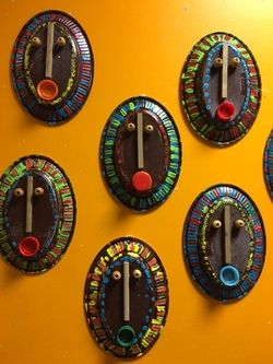 masques africains PS