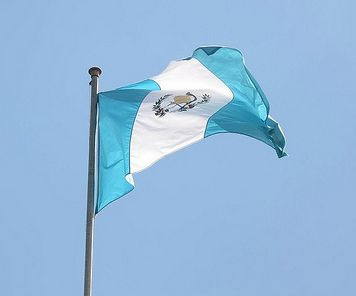 Definitely adopted in 1871, the flag of Guatemala retook the same colors as before 1851 when the Spanish add some red and yellow on it.