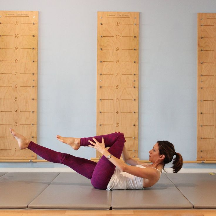 A Serious Ab Workout in Just 2 Minutes: The Pilates Series of 5: This group of classic Pilates moves, collectively known as the Series of Five, is the perfect addition to any workout.