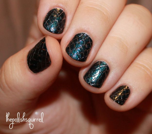 dragon scale mani.