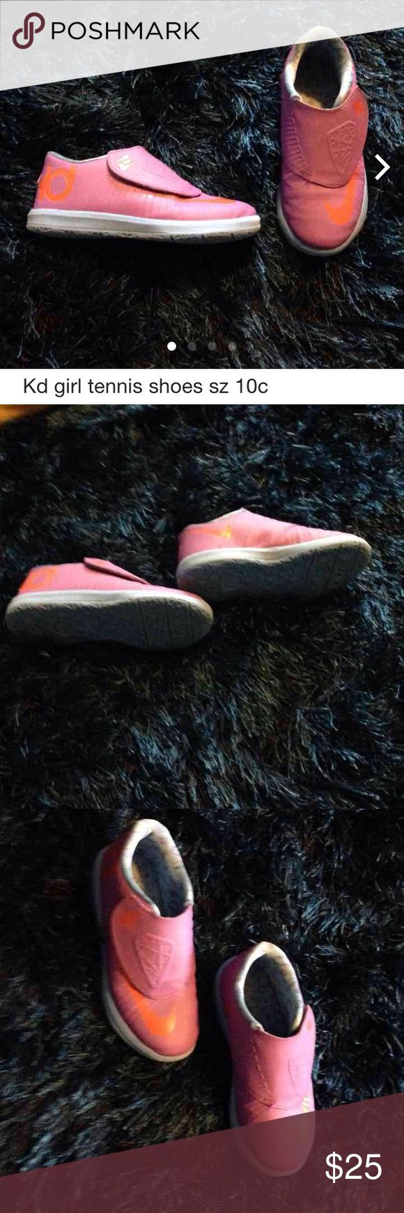 Nike KD girl tennis shoes 10c Good condition Nike Shoes Sneakers