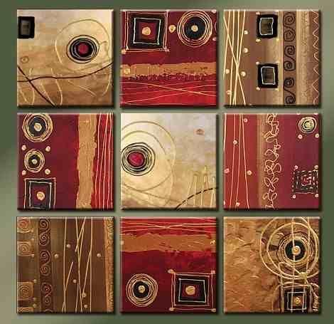 309 best images about peinture sur toile on pinterest - Cuadros decorativos modernos ...