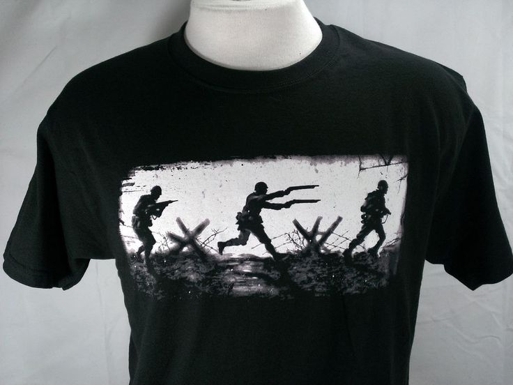 Jinx Call of Duty Men T Shirt Black Duel Wield Shotgun Gamer Game Cotton Medium #Jinx #GraphicTee #ebayROCteam #videogame #christmasgift