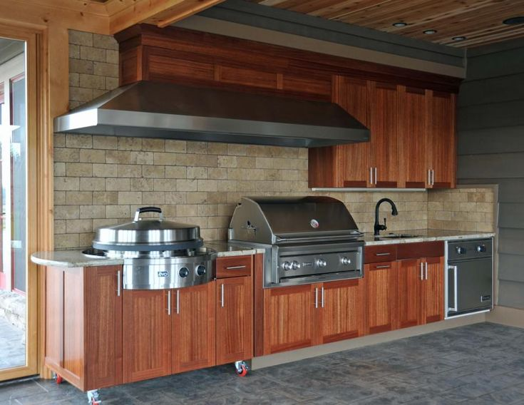 44 best outdoor kitchens images on Pinterest | Outdoor ideas ...