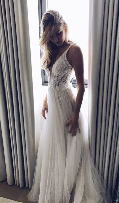 Featured Dress: Pallas Couture; Wedding dress idea.