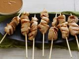 Chicken Sate with Spicy Peanut Dipping Sauce Recipe : Ellie Krieger : Recipes : Food Network
