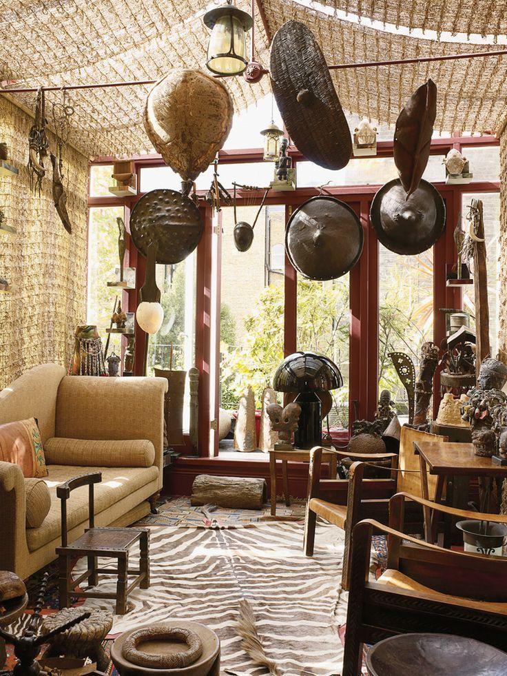 Safari Interior Design African And British Colonial Style
