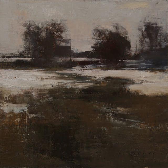 Douglas Fryer - landscape oil painting