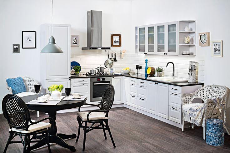 LUIZA WHITE  kuchnie i elementy dostępne w Castoramie
