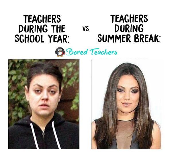 36 Summer season Break Memes All Lecturers Can Relate To