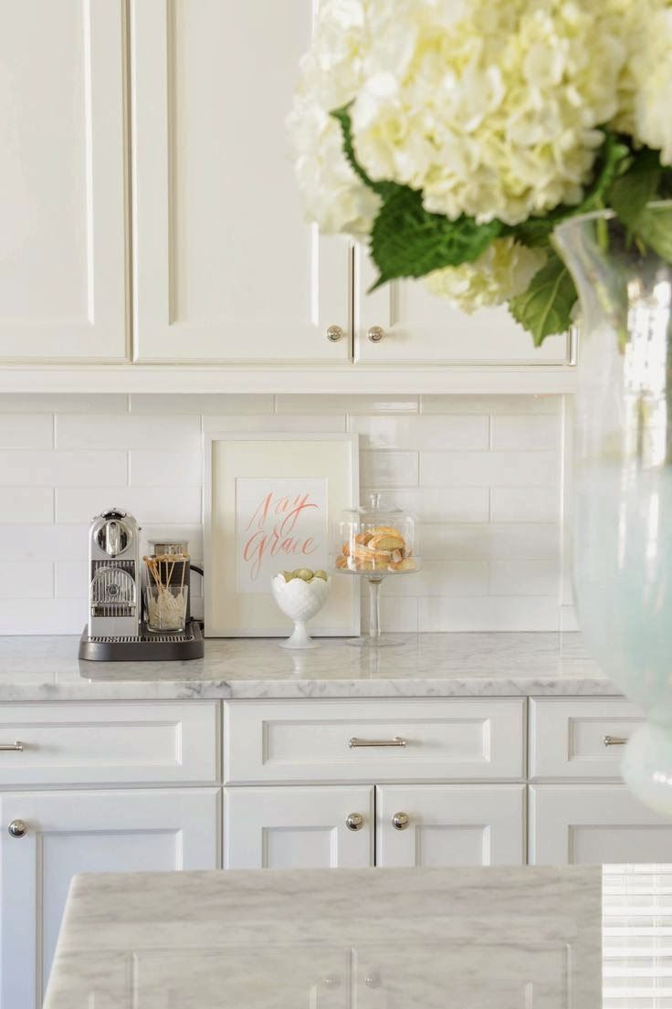 Simple White Kitchen 48 best white cabinets & travertine images on pinterest | home