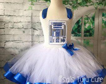 R2D2 vestido del tutú tutú del R2D2 R2D2 traje boda por LisasTutus