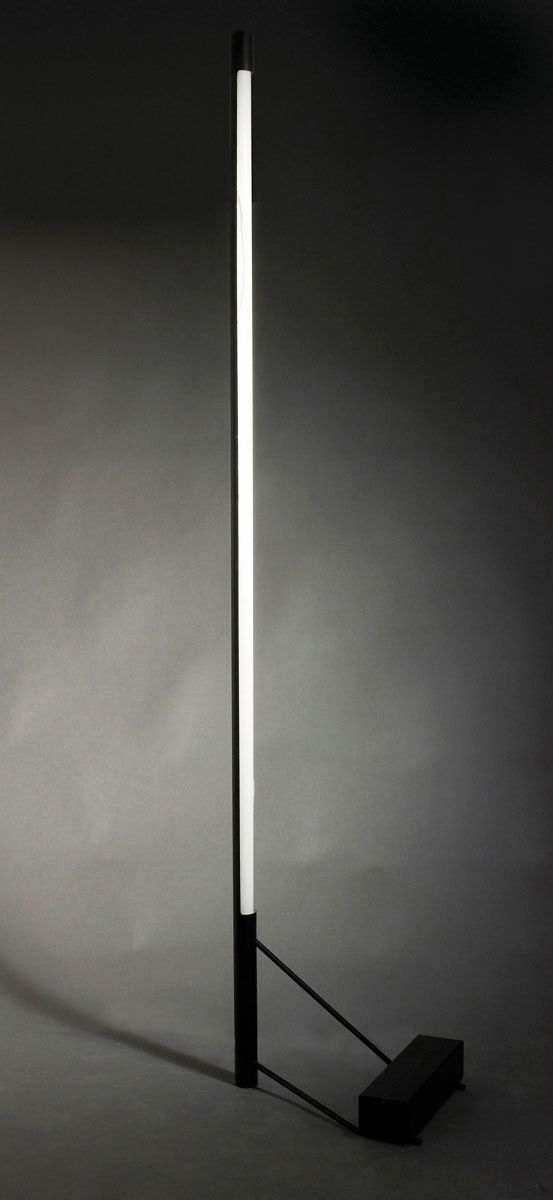 Gino Sarfatti, floor lamp 1063, 1953. For Arteluce, Milano. Via Quittenbaum.