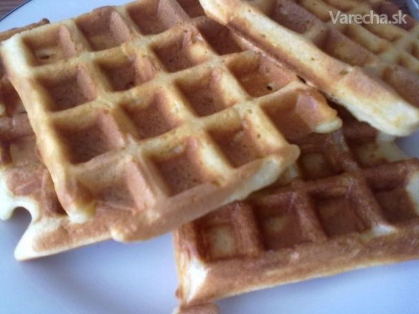 Chrumkavé wafle