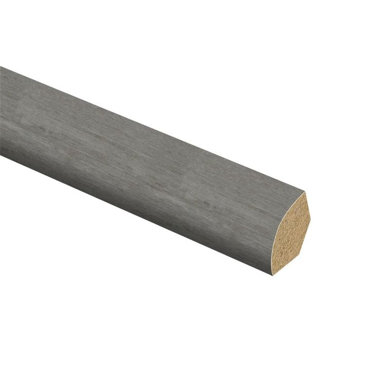 Mojave Silverwood 5/8 in. Thick x 3/4 in. Wide x 94 in. Length Vinyl Quarter Round Molding