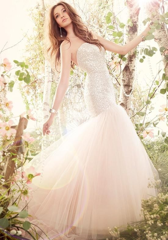 26 best spring 2015 images on pinterest lazaro bridal for How much is a lazaro wedding dress