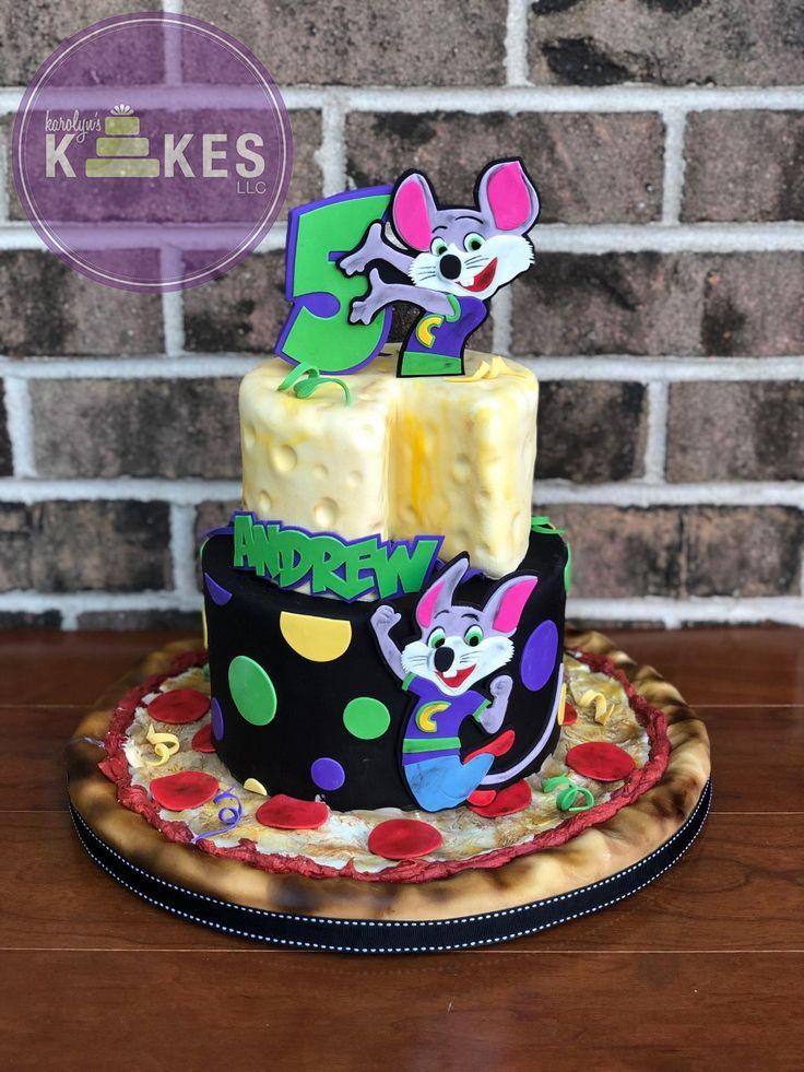 Chuck e cheese kake this is andrews 2nd chuck e cheese