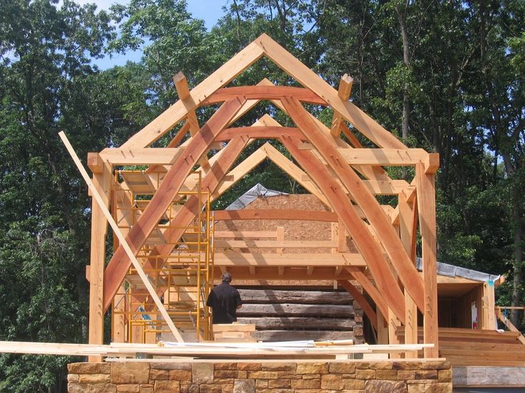 Timber frames by thomstanton 133 architecture ideas to for Cruck frame house plans