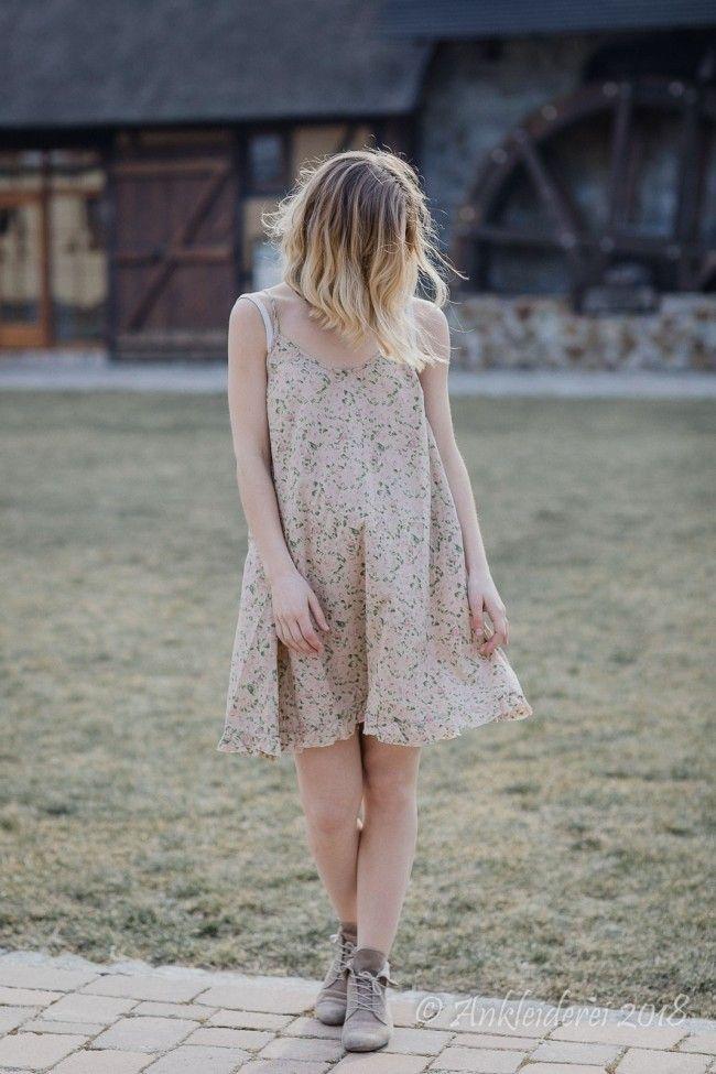1112b4688632 Les Ours Kleid MARINETTE Cotton Fleur Verte SS18   Ankleiderei   Online-Shop  für skandinavische