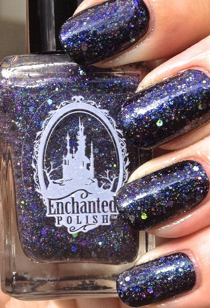 Enchanted Polish - To Die For 1 coat over black in photo *Prefer to swap for another EP...but feel free make an offer!*