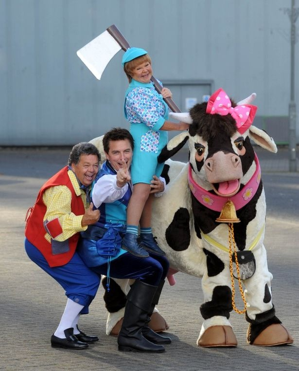 The Krankies and John Barrowman launch their pantomime Jack and the Beanstalk
