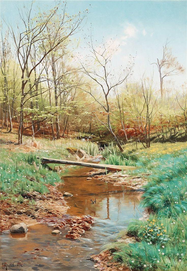 Картинки о весне красивые художников, днем рождения
