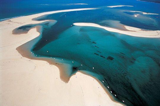 Le bassin d'Arcachon, like a Venetian lagoon