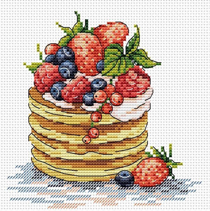 Набор для вышивания МП Студия М-088 К завтраку