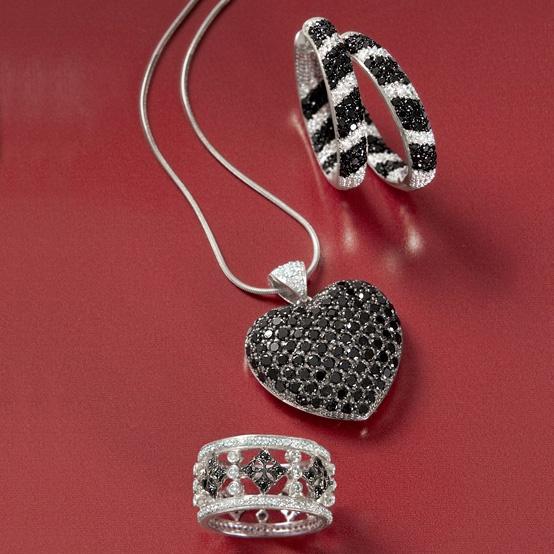 28 best black diamonds images on pinterest black for Ross simons jewelry store