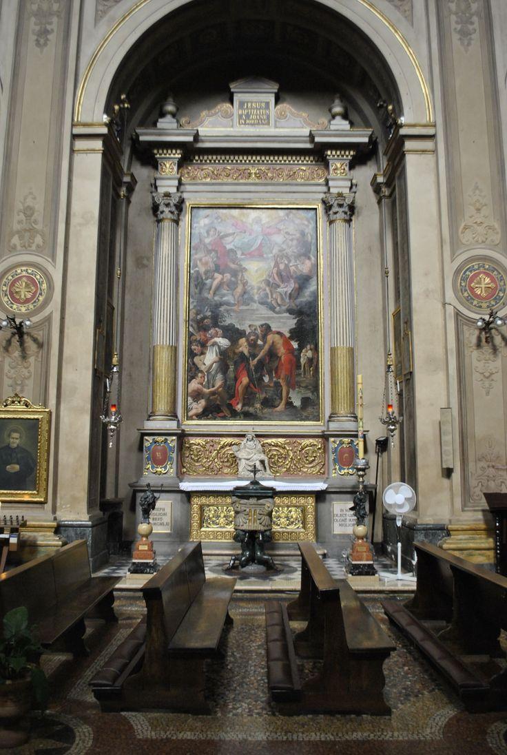Annibale Carracci, Battesimo di Cristo, 1583-1585, Chiesa dei SS. Gregorio e Siro, Bologna