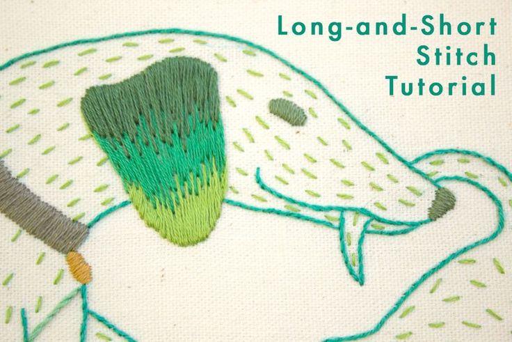 Embroidery Stitches Long And Short | Makaroka.com