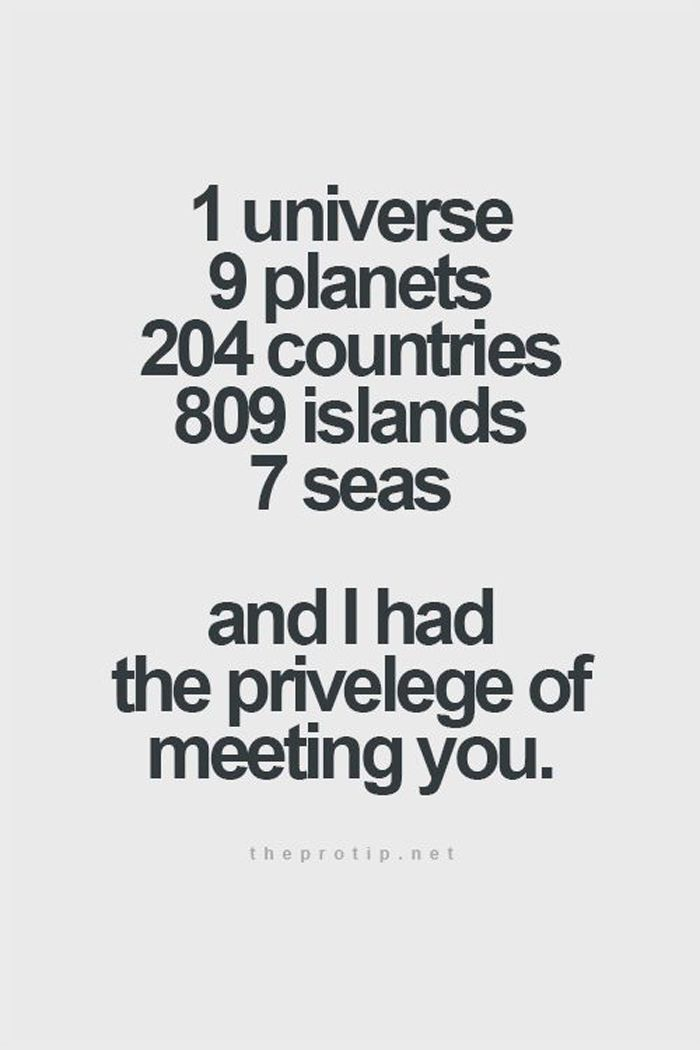 30 Love You Quotes For Your Loved Ones: 1 Universe