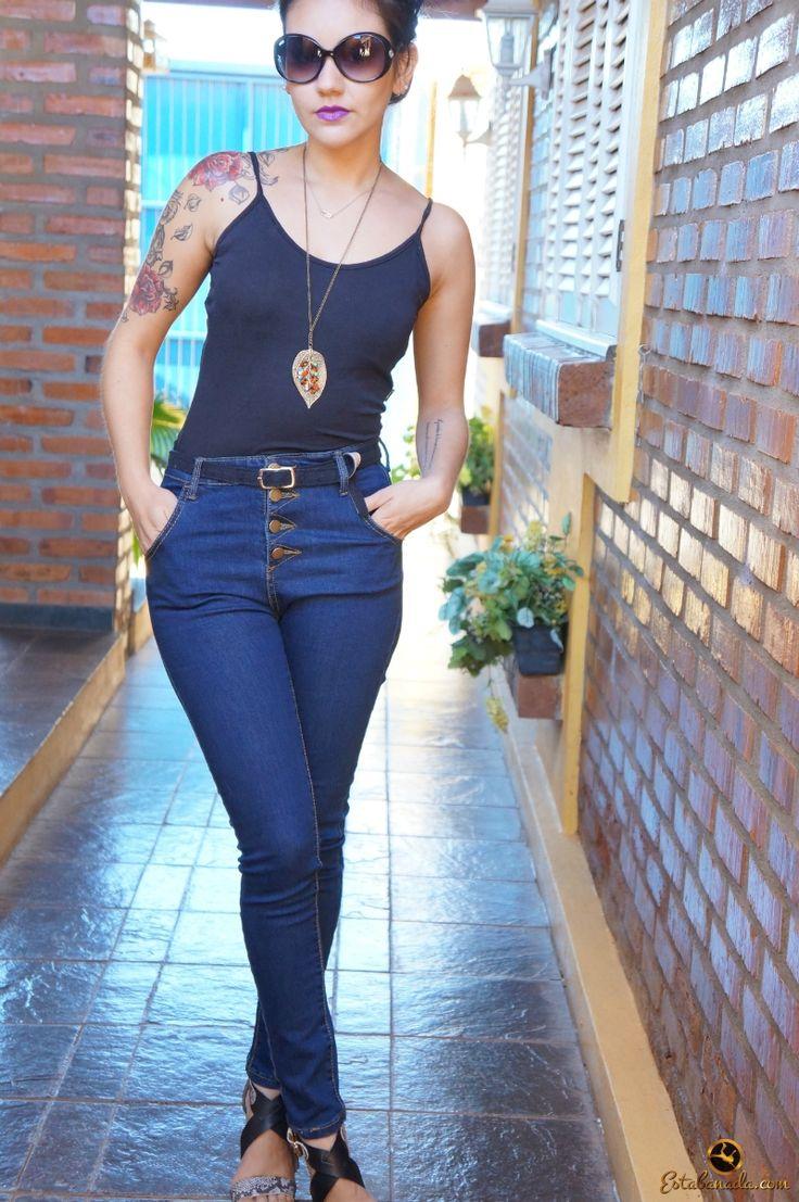 Look do Dia: Calça de Cintura Alta