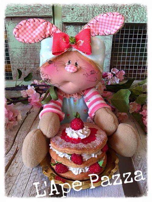 """Cartamodelli Conigli primavera 2016 : cartamodello """"la 1000 foglie di Ester"""""""